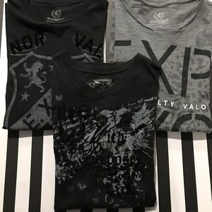 Express Graphic Tee Bundle